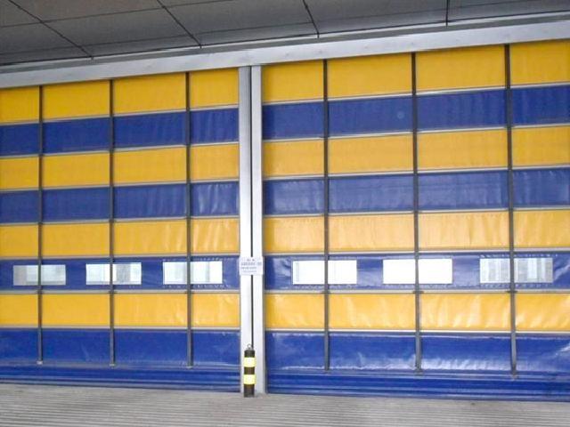 软帘式快速门_快速堆积门相关-佛山市专安门金属门窗制造厂